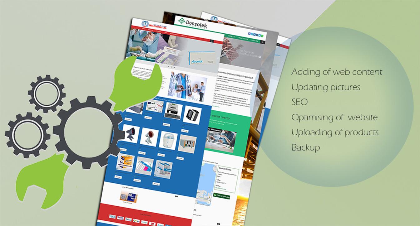 Website Maintenance Services in Lagos Nigeria