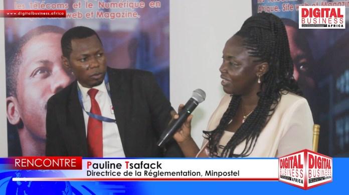 Pauline Tsafack : « Il faudra évaluer et recadrer le plan stratégique Cameroun numérique 2020 » [Vidéo]