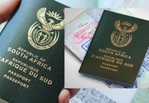 Passeport Afrique du Sud