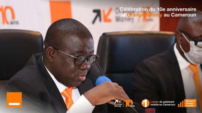 Emmanuel Tassembedo, Directeur d'Orange Money Cameroun