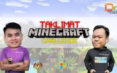 Taklimat Minecraft EDU Challenge KPM