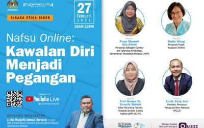 Nafsu Online : Kawalan Diri Menjadi Pegangan