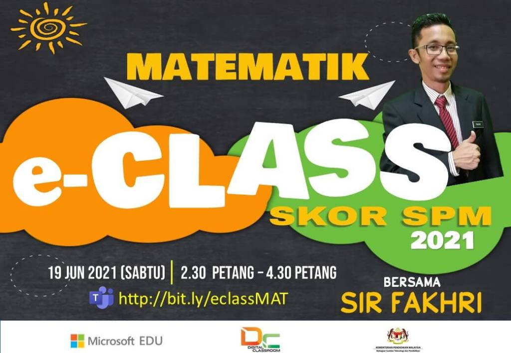 Rakaman Youtube : Matematik SPM bersama-sama Sir Fakhri