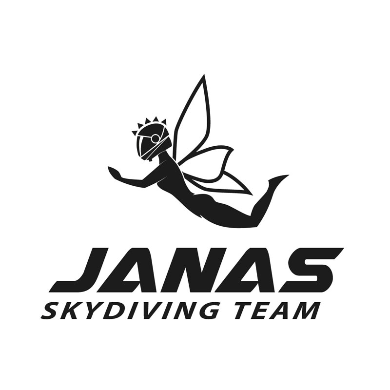 Janas-Logo-Skydiving-team