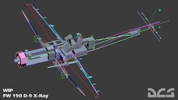 Fw190D9 x ray 358