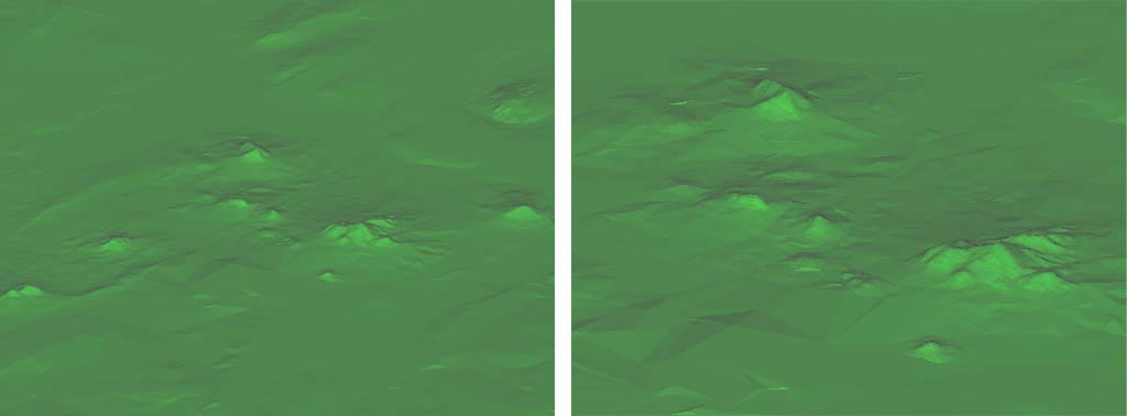 The terrain elevation matrix is particularly detailed in the Mineralnye Vody area of the map