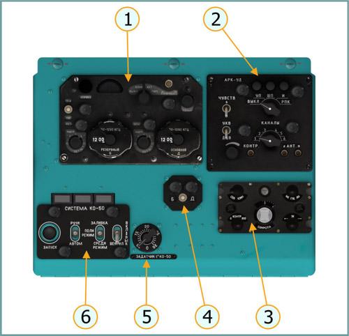 Right Overhead Console