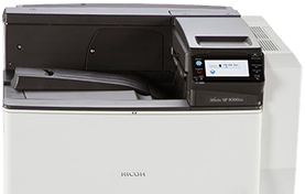 SP 8300DN Black and White Laser Printer
