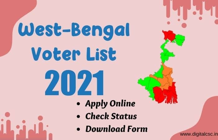 NewWest Bengal Voter List 2021