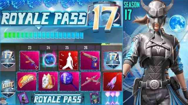 PUBG mobile Royal Pass Season17
