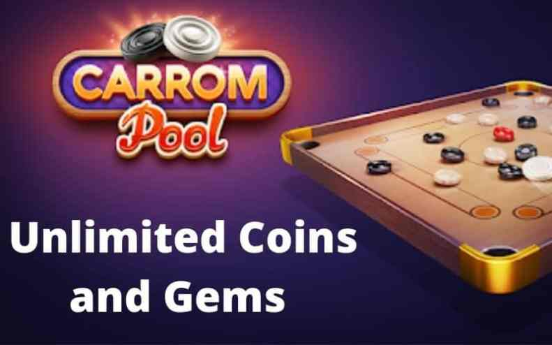 Carrom Unlimited Coins and Gems