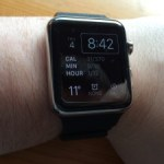 The apple Watch with Voiceover – Day 1