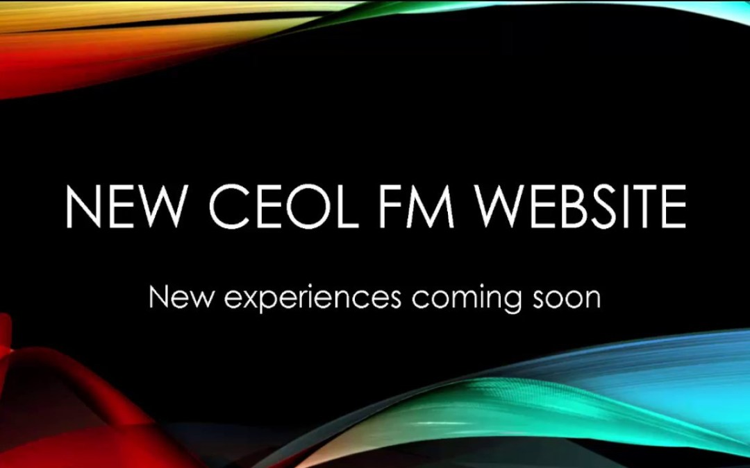 Ceol FM – New website coming soon. Promo video
