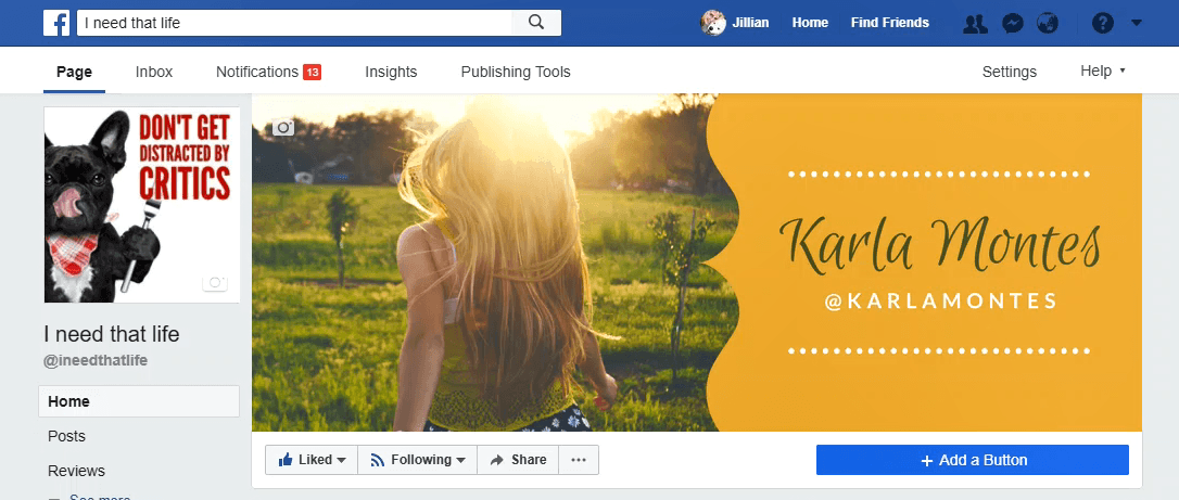 Create the perfect Facebook cover with Canva