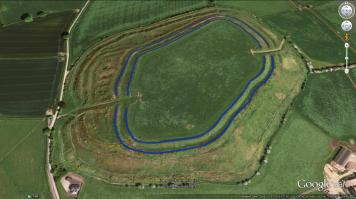 Image 01 - Old Oswestry Hillfort Period 1.