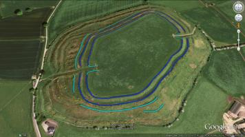 Image 02 - Old Oswestry Hillfort Period 2.