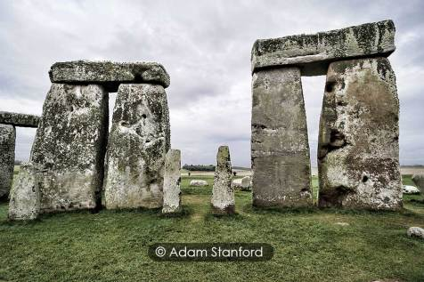 Stonehenge - Trilothons and bluestones. © Adam Stanford.