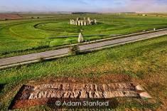 Stonehenge - The Avenue Excavation. © Adam Stanford.