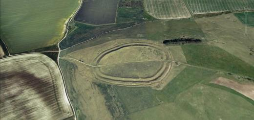 Barbury Castle Hillfort, Wiltshire