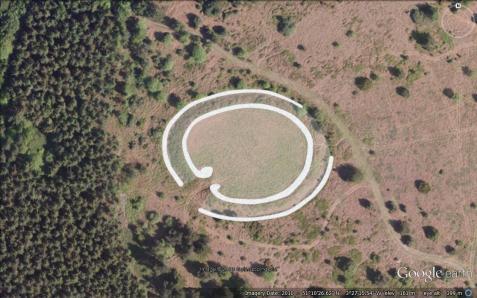 Black Ball Camp Hill Fort, Gallox Hill, Somerset.