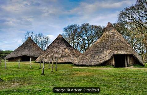 Castell Henllys, Pembrokeshire. Image © Adam Stanford.