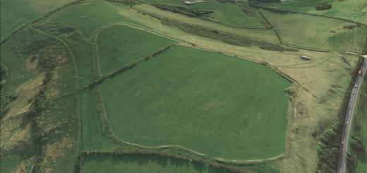 Chilcombe Hill Hillfort, Dorset.