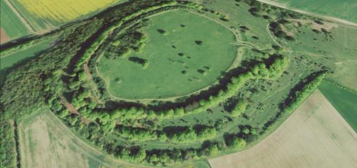 Danebury Ring Hillfort, Hampshire