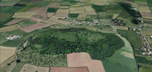 Dundon Hillfort, Compton Dundon, Somerset