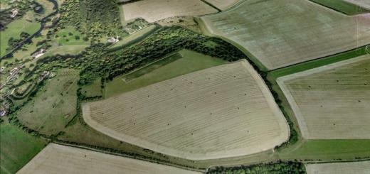 Ogbury Camp Hillfort, Wiltshire