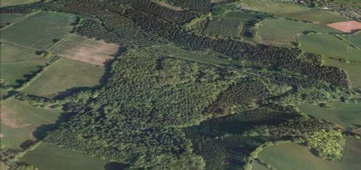 Ruborough Camp Hillfort, Broomfield, Somerset
