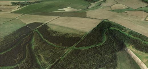 West Compton Hillfort, Dorset.