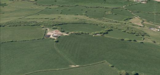 Whitestaunton Camp Hillfort, Howley, Somerset