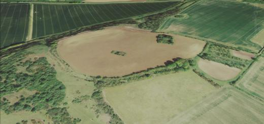 Woolbury Ring Hillfort, Hampshire