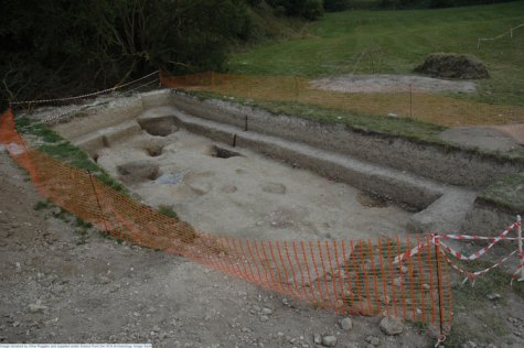Image 4 - Durrington Walls southern circle excavation 2005. Image copyright Clive Ruggles.