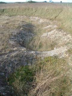 Image 6 - Wyke Down Henge 1 from the ground.