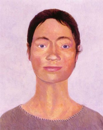 Image 7 - Neolithic woman, Monkton Up Wimborne. Image © Jane Brayne.
