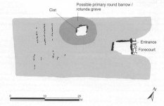 Tinkinswood Long Barrow plan. Image by Vanessa Constant.