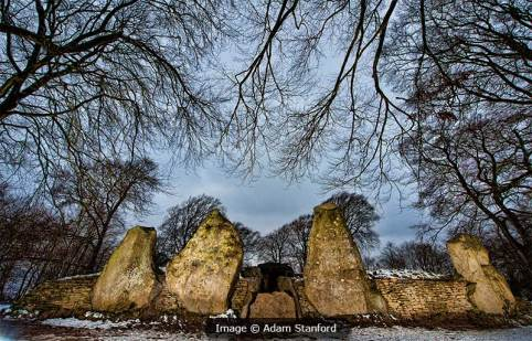 Wayland's Smithy facade. Image © Adam Stanford.