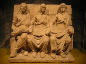 Matres (the Vertault relief), Vertillum (Vertault) in Gaul.