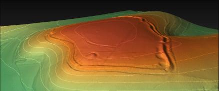 Sctachbury Camp Digital Terrain Model (generated in planlauf/Terrain)