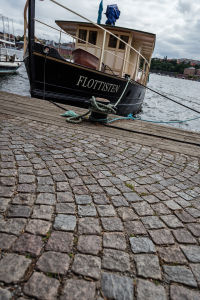 Cobblestones and Boats