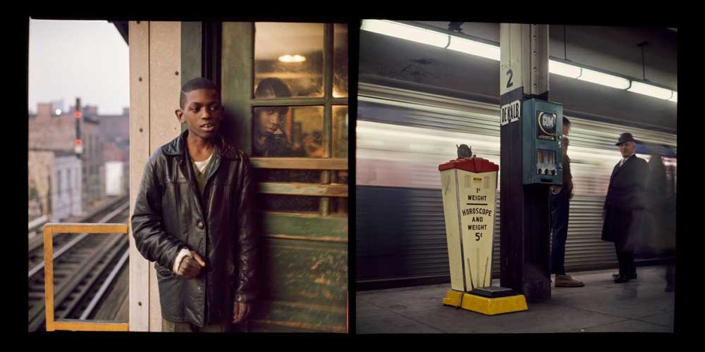 Images from NYC Subway Exhibit of Daniel Lyons