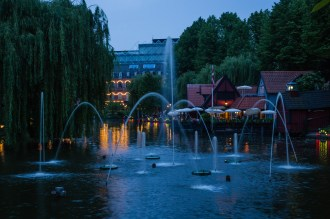 Tivoli Gardens Fountains