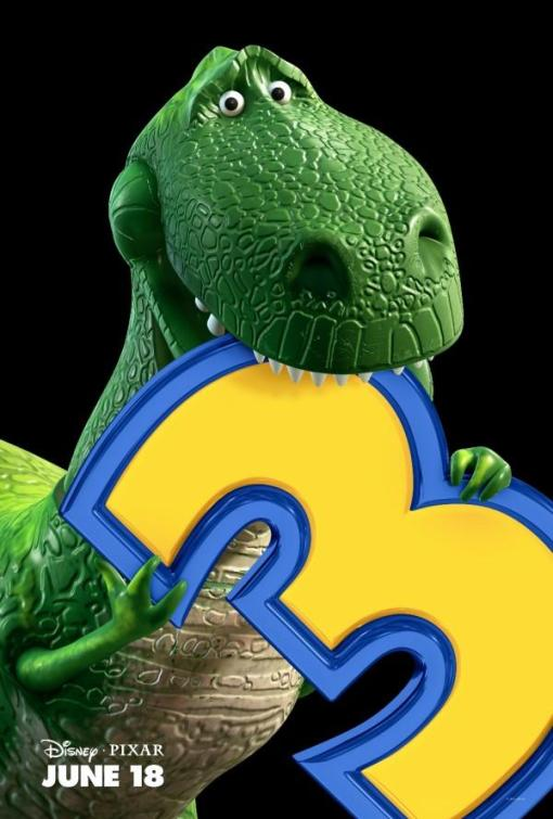 Toy Story 3 - Charakterposter Rex