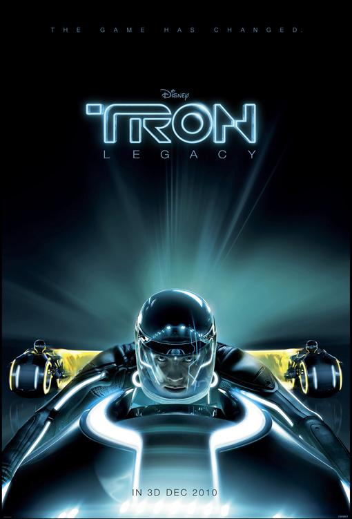 Teaserposter Tron Legacy