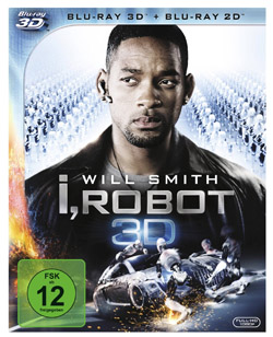 I ROBOT 3D - Cover Blu-ray 3D