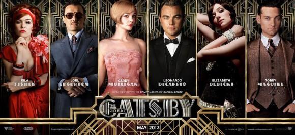 Great Gatsby -Charakter-Banner