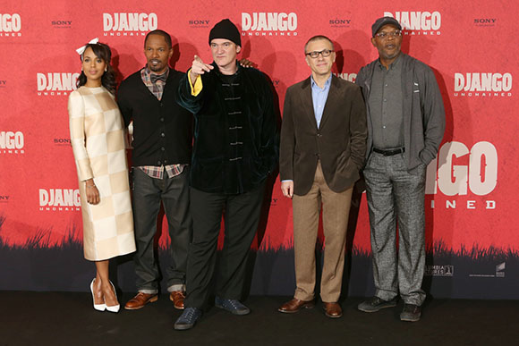 Photocall Django Unchained