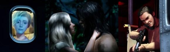 Tarzan 3D -Problem Figuren