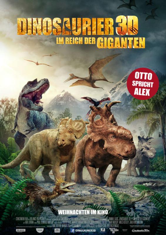 Dinosaurier 3D- Im Reich der Giganten - Hauptplakat